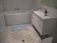 Stop by our online site for even more information on this incredible thing Neutral Bathroom Tile, Bathroom Floor Tiles, Tile Floor, Bathroom Inspiration, Bathroom Ideas, Bathroom Stuff, Wendy House, Color Tile, Home Reno