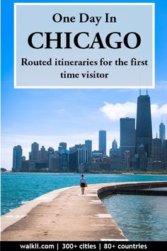 Chicago sightseeing itinerary for first time visitors A single day itinerary for first time visitors to explore Chicago with routed sightseeing maps. Great for solo travel, long layovers, backpackers, and family travel Walking Map, Walking Tour, Chicago River, Chicago Trip, Solo Travel, Travel Tips, The Places Youll Go, Day Trips, Family Travel