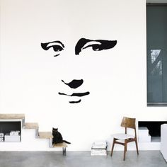 Mona Lisa. Wall decal from AllPosters.com, $29.99