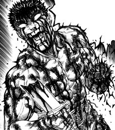 Guts after losing hand.