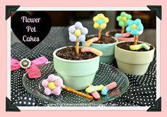 Comfy in the Kitchen - Kuchen als Blumentopf!