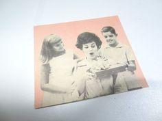 antigo cartão do dia das mães anos 50!!! raro natal