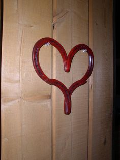 Horse Shoe Heart - Country Western Home Decor on Etsy, $23.00