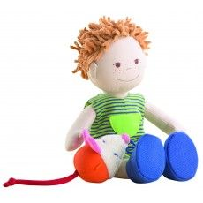 Soft doll Lucas from Haba