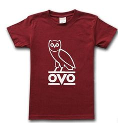 Drake Tshirt OVO Owl Gang T-Shirt Hip Hop Short Sleeve T Shirt Click here for our Drake OVOXO October's Very Own Tshirts Hoodies and Caps Collection Sleeve Style: Short Sleeve Material: Cotton Collar: