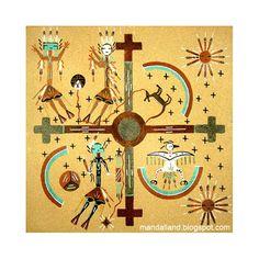 mandalarea: мандалы Навахо