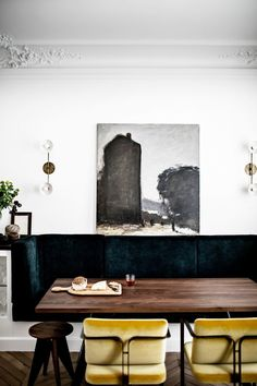 Exclusive: This Striking Parisian Apartment Had Us at Bonjour via @MyDomaineAU