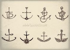 Love the anchor with the heart. And add a scripture reference.