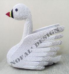 Mohammad Nofal | Album | Swan… | 3D Origami Art