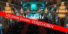 Pressemeldung | HR Inside Summit wird VERSCHOBEN