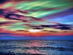 Vivid Sunset 8x10  Fine Art Photograph by ThoreauFair on Etsy