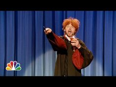 Drunk Ron Weasley Sings Happy Birthday To Harry Potter (Simon Pegg is the king of the nerds!)