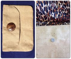 Burlap clutch $19 www.havenexclusives.com