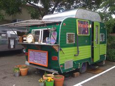 sweet greens - and I can always retire the trailer to make tacos and cash