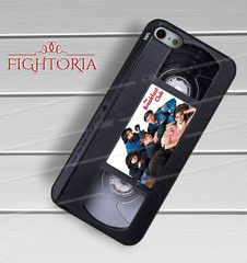 The breakfast club old movie on vhs -stle for iPhone 6S case, iPhone 5s case, iPhone 6 case, iPhone 4S, Samsung S6 Edge