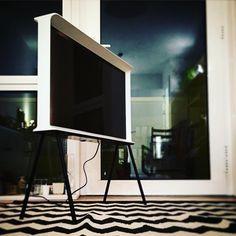 """""""The white Serif TV. Perfect for Monochromatic interiors.  #white #monochrome #monochromatic #interior #design #bouroullec #seriftv www.seriftv.com"""""""