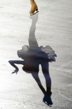 An Enjoyable Winter Sport - Ice Skating And My Skating History Shadow Art, Shadow Play, Ice Ice Baby, Ballet, Grand Art, Shadow Silhouette, Ice Skaters, Ice Dance, Ice Princess