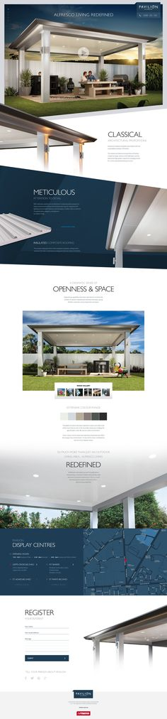 Pavilion Website #UI