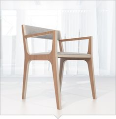 Chair — Design bureau — designer furniture and accessories Simple Furniture, Design Furniture, Chair Design, Modern Furniture, Plywood Chair, Plywood Furniture, Home Furniture, Furniture Dolly, Plotter Cutter