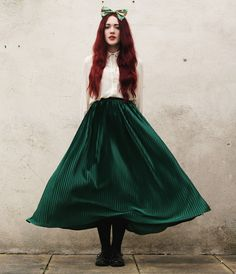 Megan McMinn - Blouse, American Apparel Skirt, Bow, Ebay Brogues - DISNEY PRINCESS.