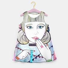 Washi Tape Fever! Vestido de verano para niñas