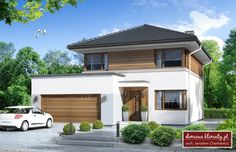 Contener House, Cafe Japan, Mediterranean Homes, Home Fashion, House Colors, Bungalow, House Plans, Sweet Home, Exterior