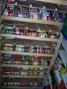 DIY - How to Build a Self Rotating Can Rack#Repin By:Pinterest++ for iPad#