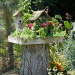 Baumstumpf Im Garten Gestalten 24 Dekoideen Aus Baumstamm Fr Haus