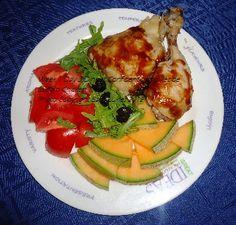 "First Place 4 Health Recipe ""Confident Living"" Menu Plan Week 1 Day 3 Dinner: Buffalo Chicken Thighs"