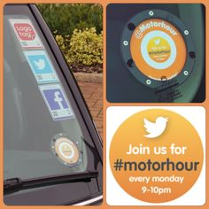 Our big launch for #Disctag was crazy with the fab team over @motorhappy with Sam and Wendy doing a fab job with our super social Tax Disc replacements #taxdisc #logotag #motorhappy #motorhour