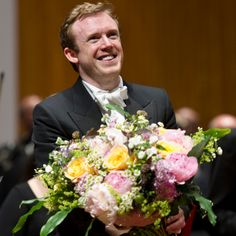Daniel Harding who directed the Filarmonica della Scala in a performance of the overture from Verdi's La Forza del Destino.    #Verdi #orchestra #conductor    © Barbara Frommann