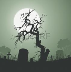 Spooky Graveyard Images, Stock Pictures, Royalty Free Spooky ...
