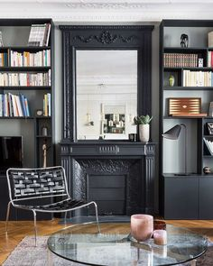 appartement de 80m2 saint placide paris 6 me marion alberge d coratrice d 39 int rieur paris. Black Bedroom Furniture Sets. Home Design Ideas