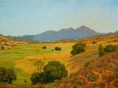 "William Wendt   A Clear Day, 30x40"", 1903"