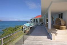 La Grande Barrier - luxury sea front holiday villa to rent in St. Barths. Sleeps 6.