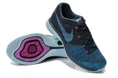 the latest 5f3b7 7bbb9 Authentic New Arrival Women Nike Flyknit Lunar 3 Sport Turquoise Pink Flash  Teal Black
