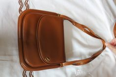 Italian leather for this nice 60s bag