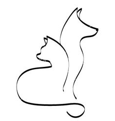 Tatoo cat-and-dog