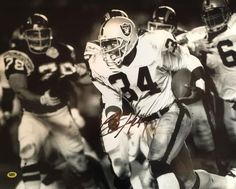 Bo Jackson Signed Los Angeles Raiders 16x20 Photo