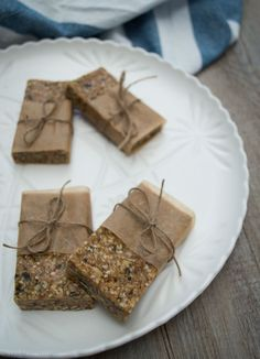 No bake muesli bar