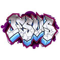Graffiti Letters | Graffiti alphabet typical light bright white