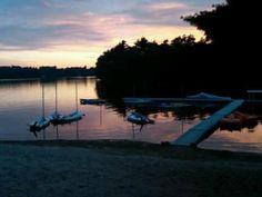 Lake Oldham in Pembroke, MA