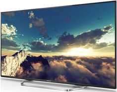 Panasonic TX-55CXW754 49er, Desktop Screenshot, Clouds, Ebay, Outdoor, Tv, Black, Outdoors, Television Set