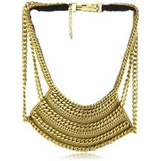 """Fiona Paxton """"Tribal Goddess"""" Breeze Metal Chain and Leather Necklace"""