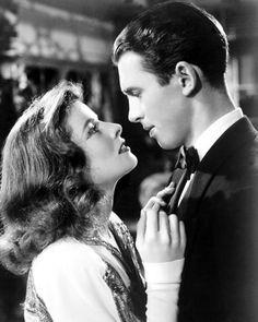 James Stewart, Katherine Hepburn - The Philadelphia Story (George Cukor, 1940)