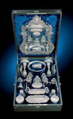 Traveling toilette 'necessaire' belonging to Empress Sissi.