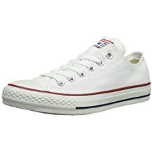 online shopping for Converse Women's Chuck Taylor All Star Low Top B(M) US, Optical White) from top store. See new offer for Converse Women's Chuck Taylor All Star Low Top B(M) US, Optical White) Converse Basketball Shoes, Converse All Star Ox, White Converse, Converse Chuck Taylor All Star, Chuck Taylor Sneakers, Sneakers Mode, White Sneakers, Sneakers Fashion, Converse Sneakers