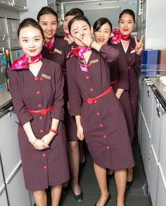 【China】 Shanghai Airlines cabin crew / 上海航空 客室乗務員 【中国】 China Eastern Airlines, Flight Attendant Life, Shirt Dress, Silk Scarves, Beauty, Instagram, Dresses, Fashion, Vestidos