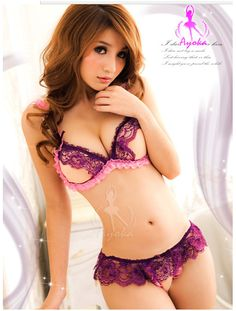 092d0800dad 2015 sexy lingerie hot Erotic girls underwear beach wear purple lace Micro  bikini G-thongs lingerie set SY018