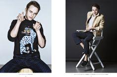Dane DeHaan Covers Flaunt Magazine
